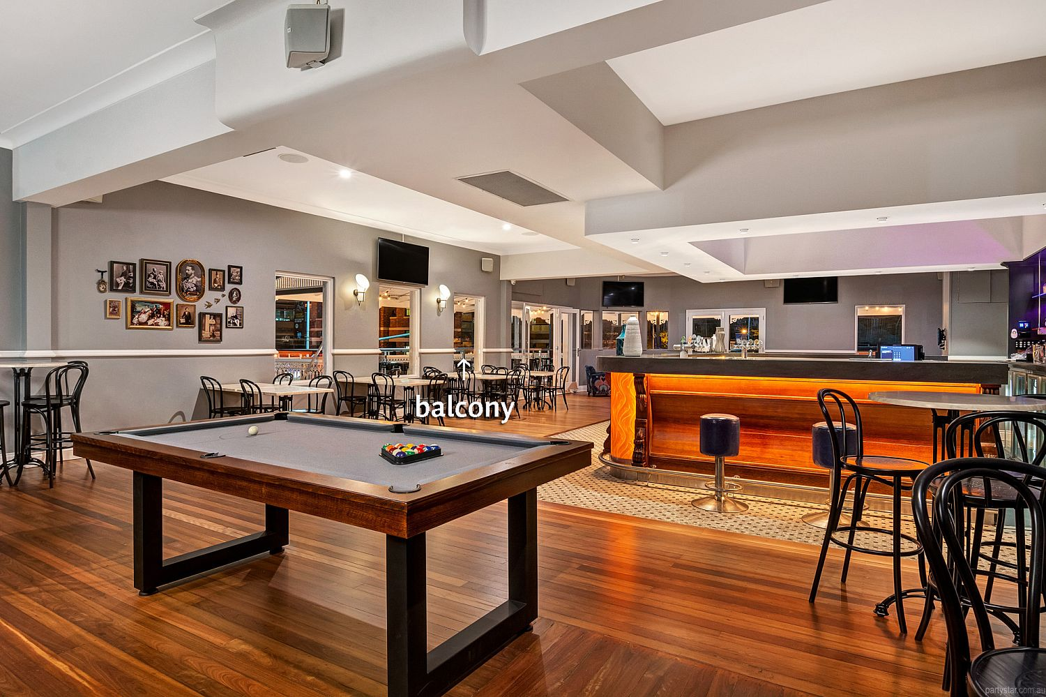 The Lord Alfred, Brisbane City, QLD. Function Room hire photo #3