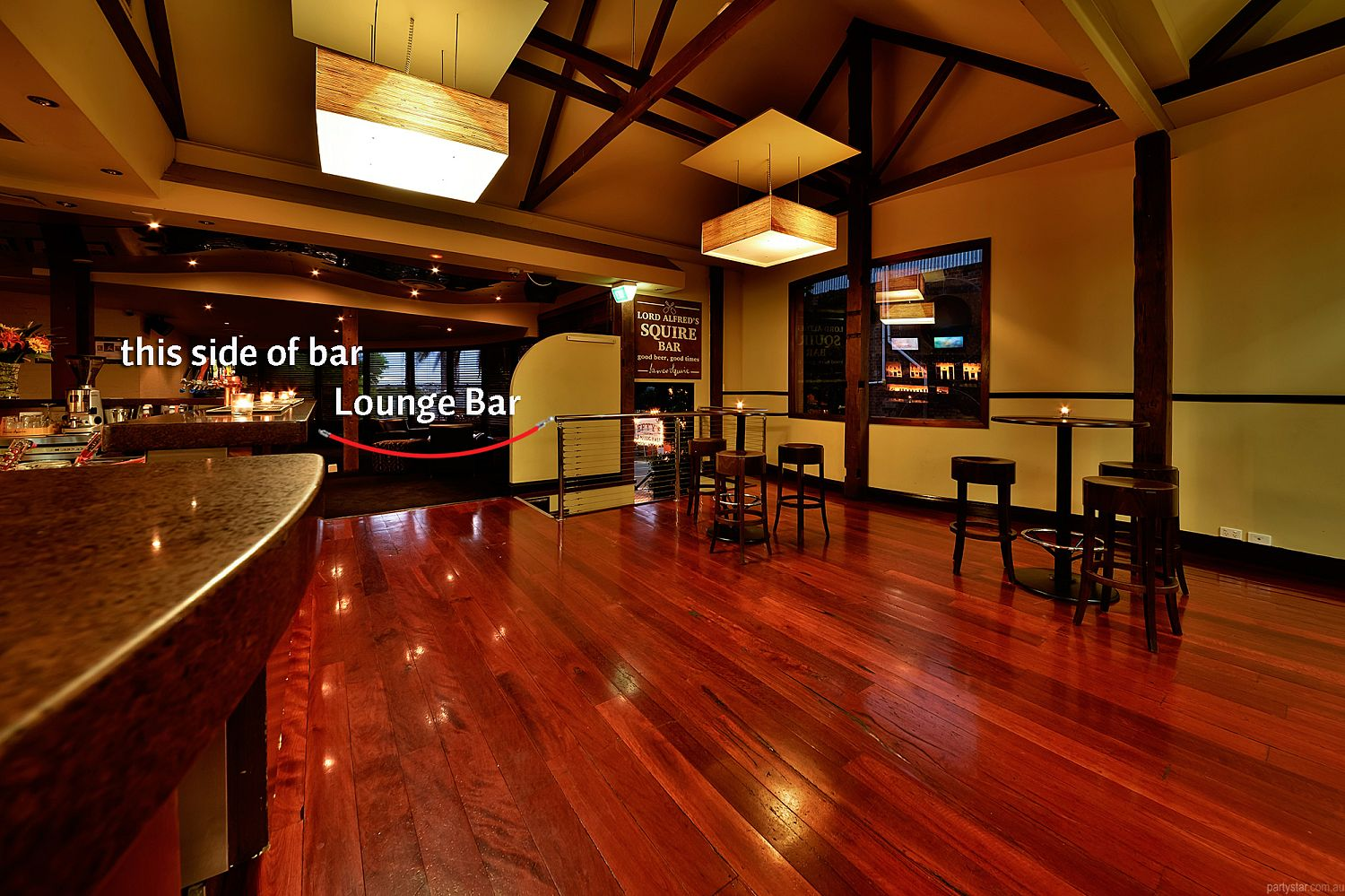 The Lord Alfred, Brisbane, QLD. Function Room hire photo #2