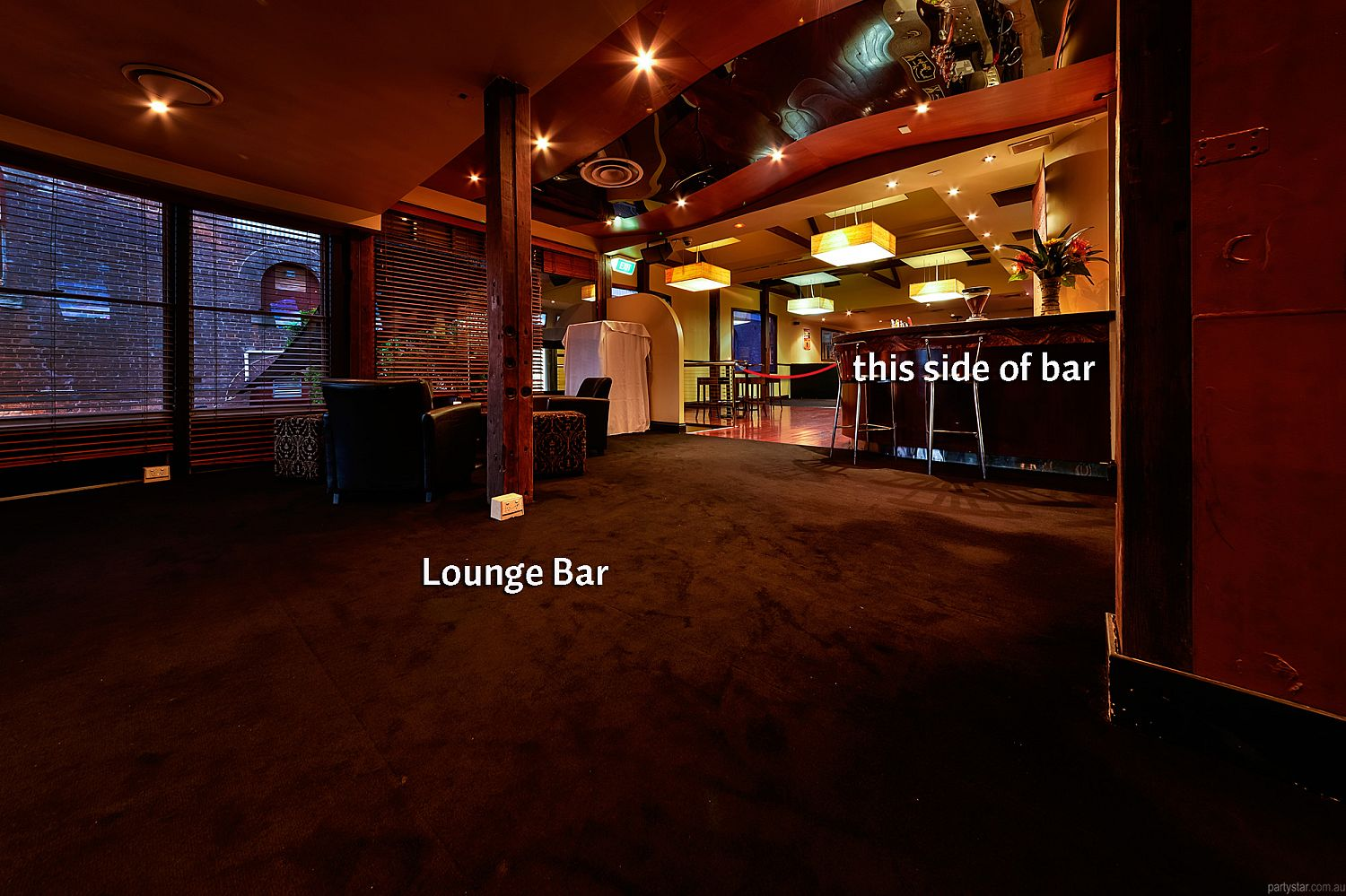 Hotel LA, Brisbane, QLD. Function Room hire photo #5