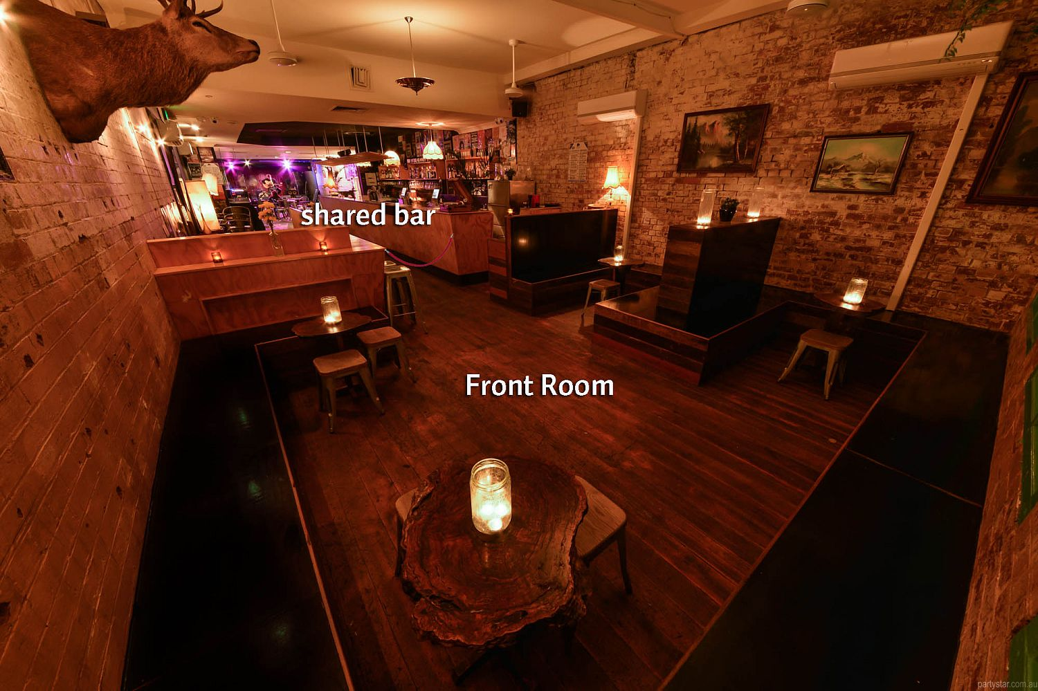 Black Bear Lodge, Fortitude Valley, QLD. Function Room hire photo #3