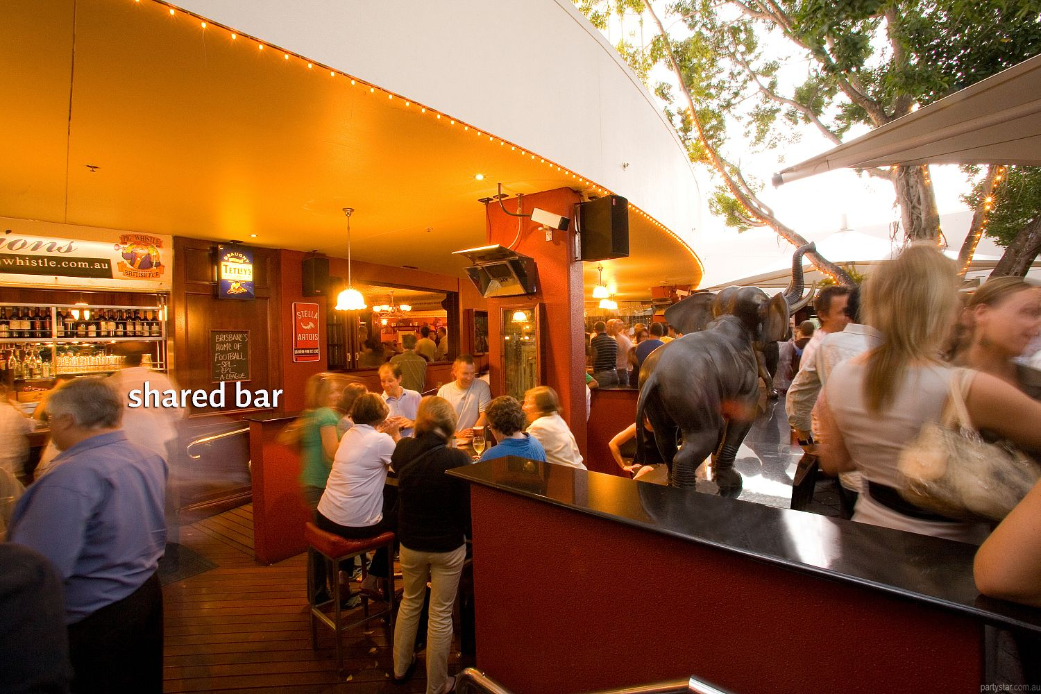 Pig 'N' Whistle Riverside, Brisbane City, QLD. Function Room hire photo #3