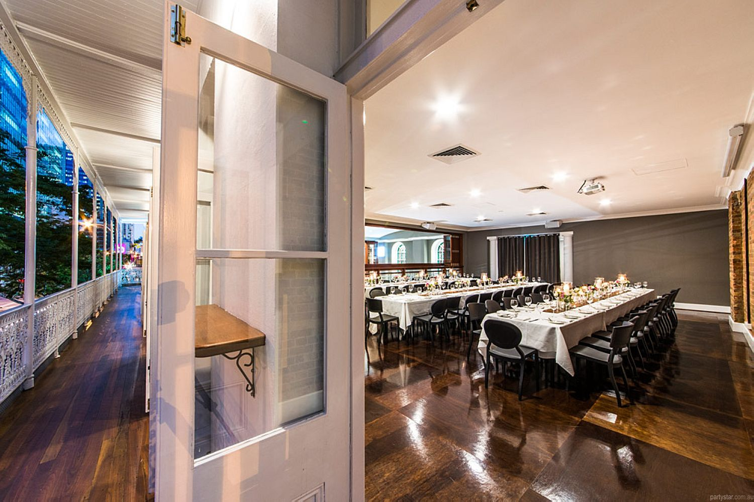 Transcontinental Hotel, Brisbane City, QLD. Function Room hire photo #4