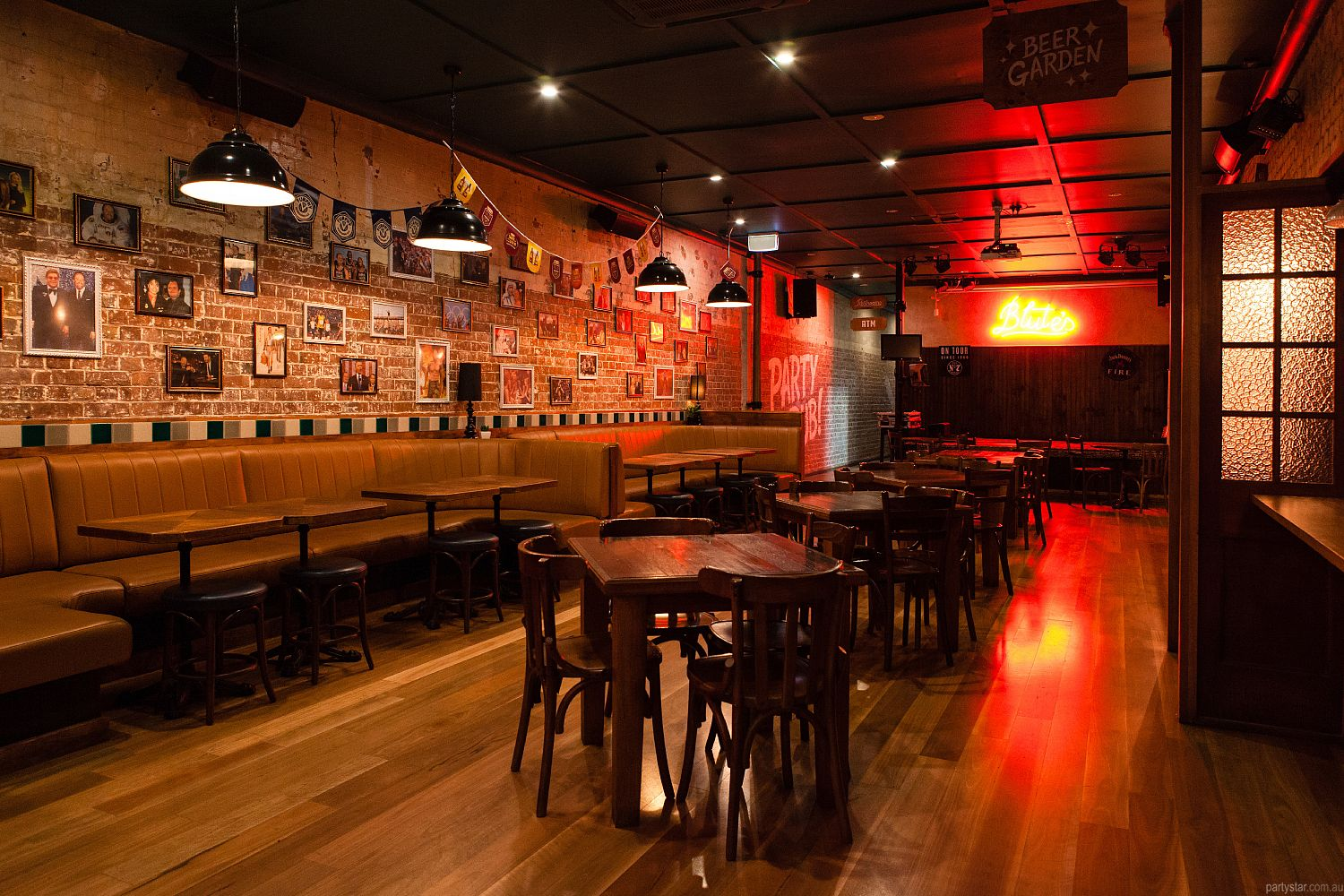 Blute's Bar, Fortitude Valley, QLD. Function Room hire photo #1