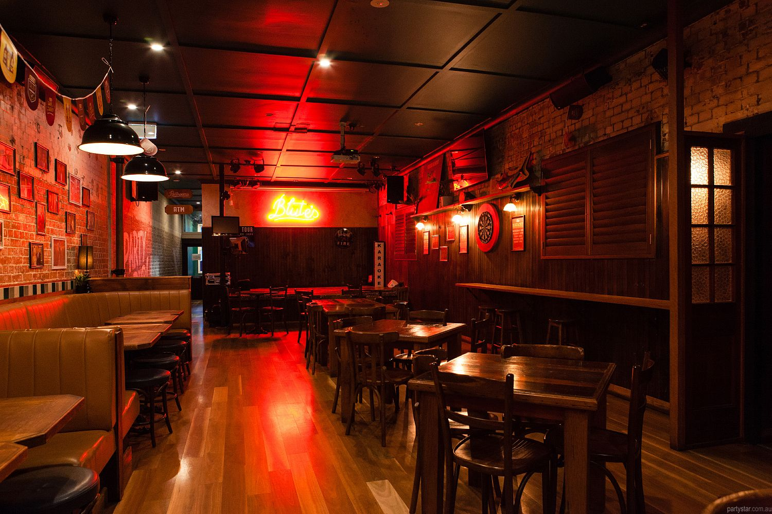Blute's Bar, Fortitude Valley, QLD. Function Room hire photo #2