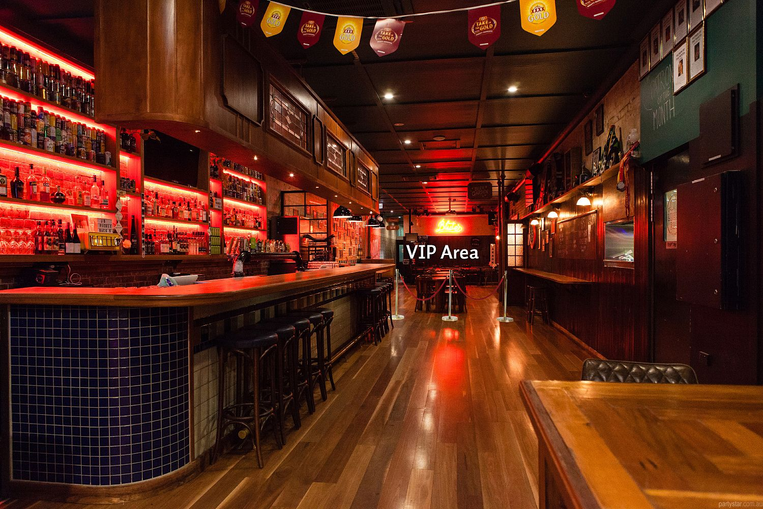Blute's Bar, Fortitude Valley, QLD. Function Room hire photo #3