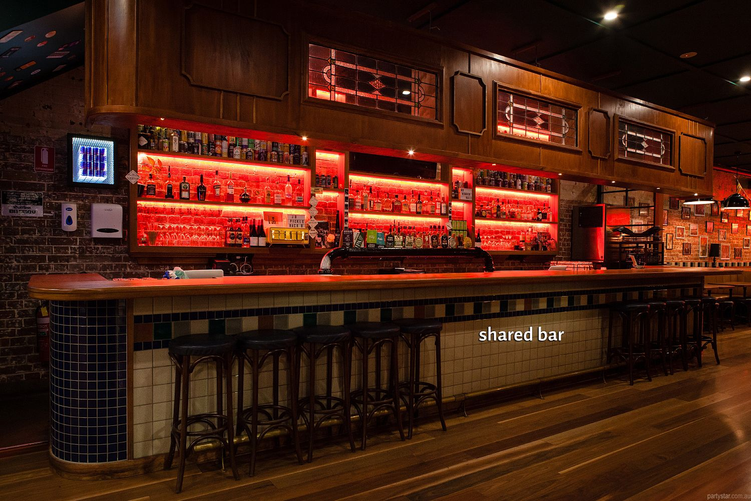 Blute's Bar, Fortitude Valley, QLD. Function Room hire photo #5