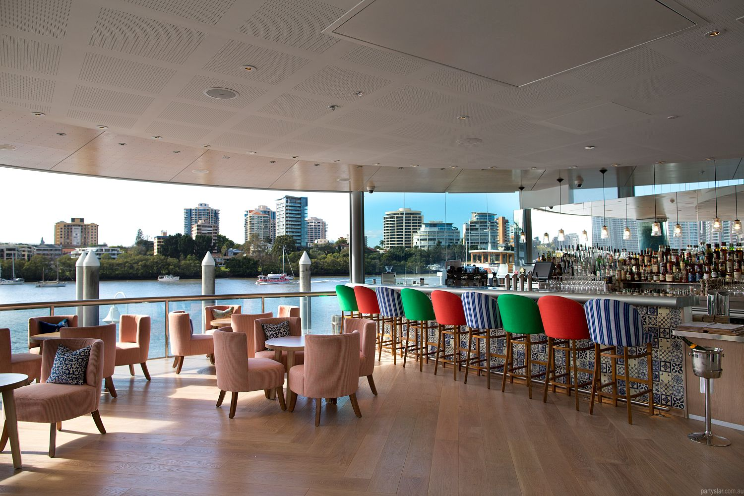 Mr and Mrs G Riverbar, Brisbane City, QLD. Function Room hire photo #1
