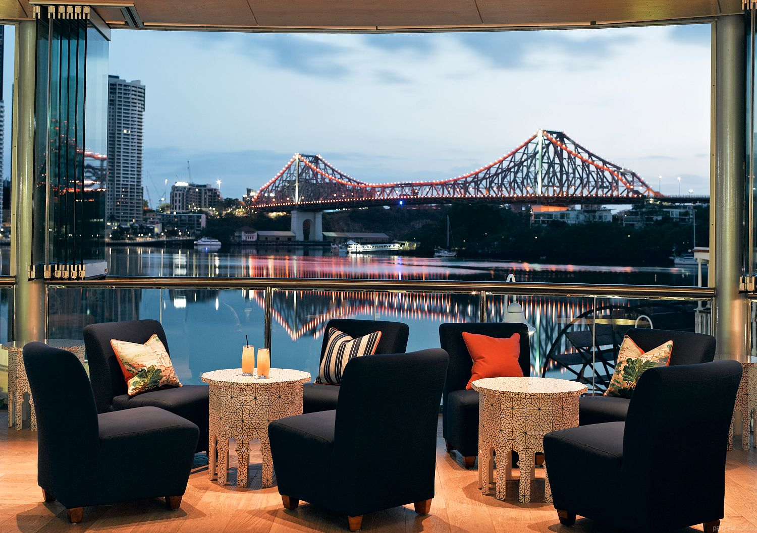 Mr and Mrs G Riverbar, Brisbane City, QLD. Function Room hire photo #2