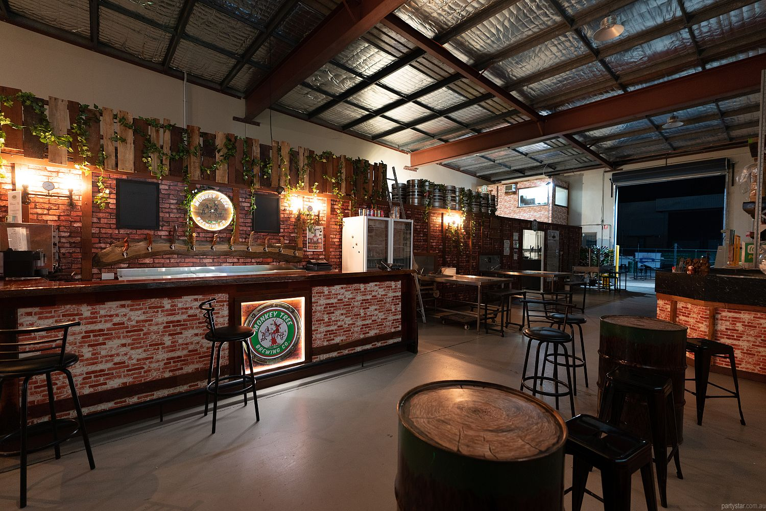 Monkey Tree Brewing Co., Underwood, QLD. Function Room hire photo #1