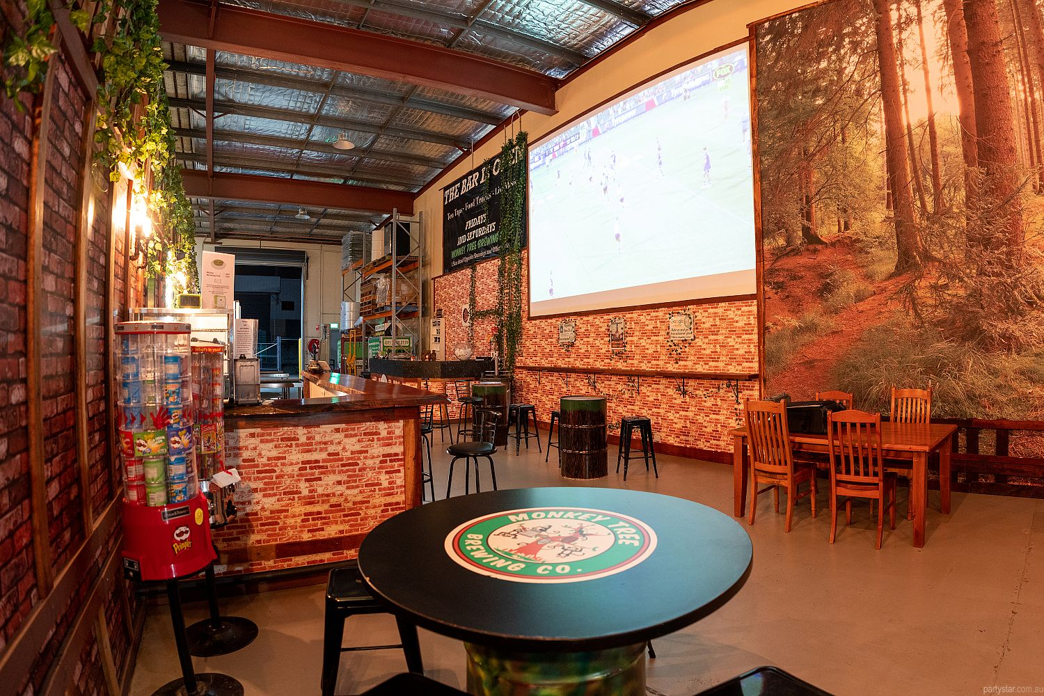 Monkey Tree Brewing Co., Underwood, QLD. Function Room hire photo #2