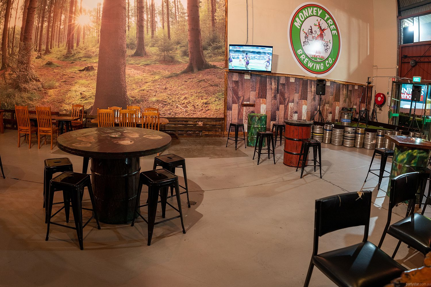 Monkey Tree Brewing Co., Underwood, QLD. Function Room hire photo #3