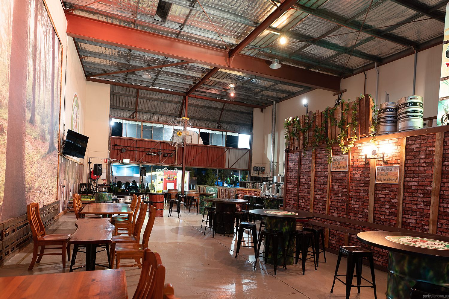 Monkey Tree Brewing Co., Underwood, QLD. Function Room hire photo #4