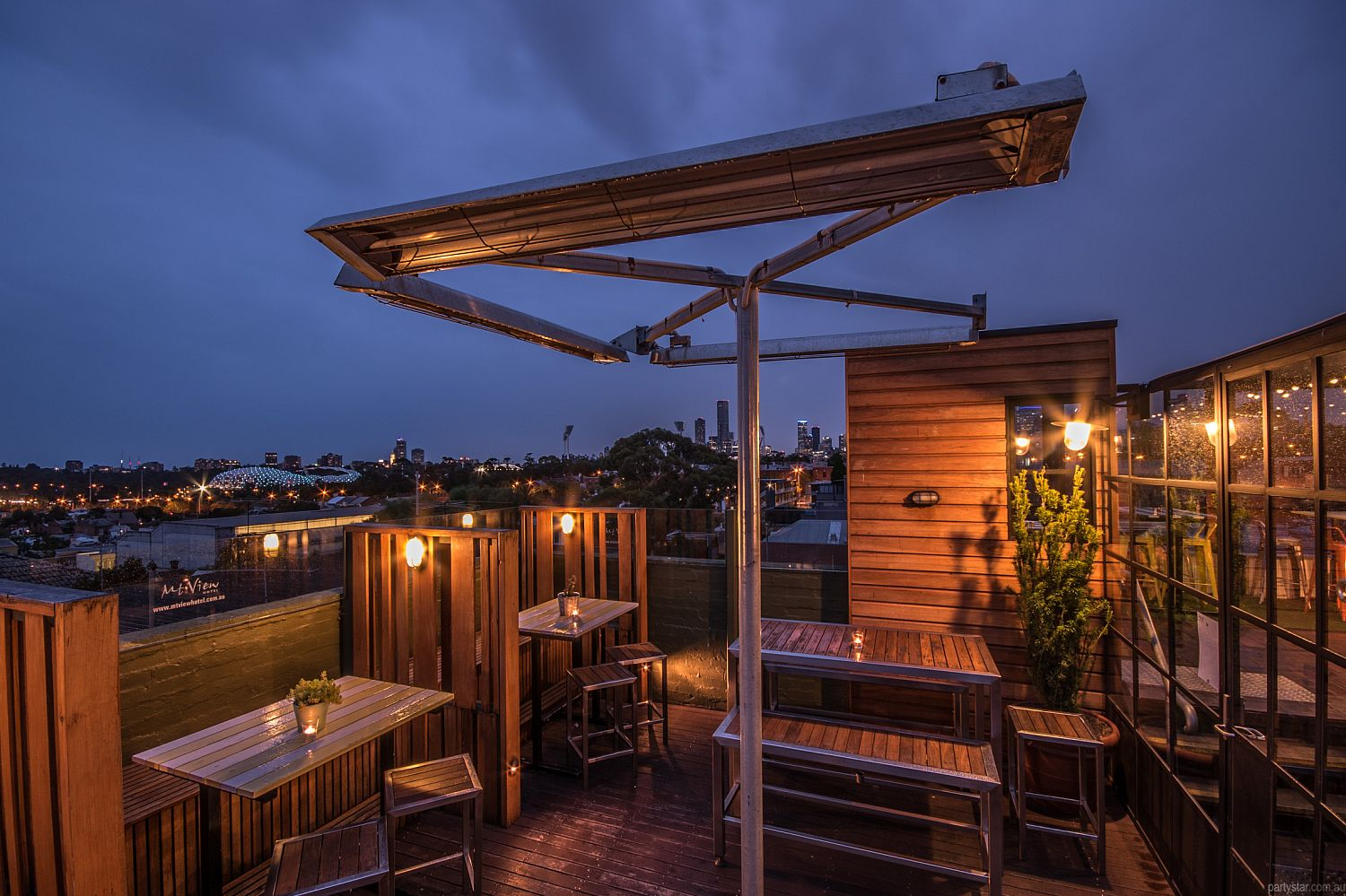 Mountain View Hotel, Richmond, VIC. Function Room hire photo #1