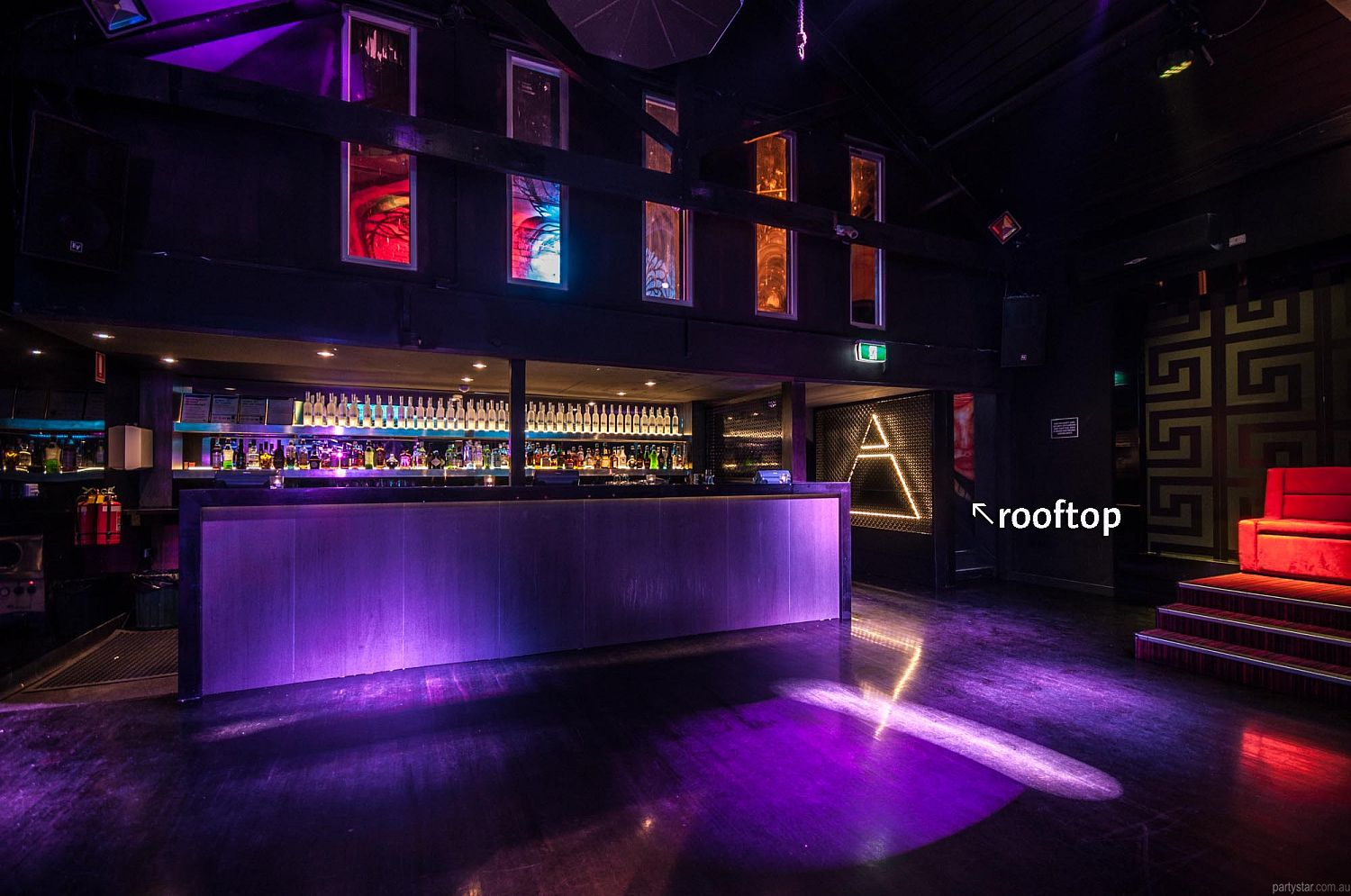 Club Pandora, South Melbourne, VIC. Function Room hire photo #4