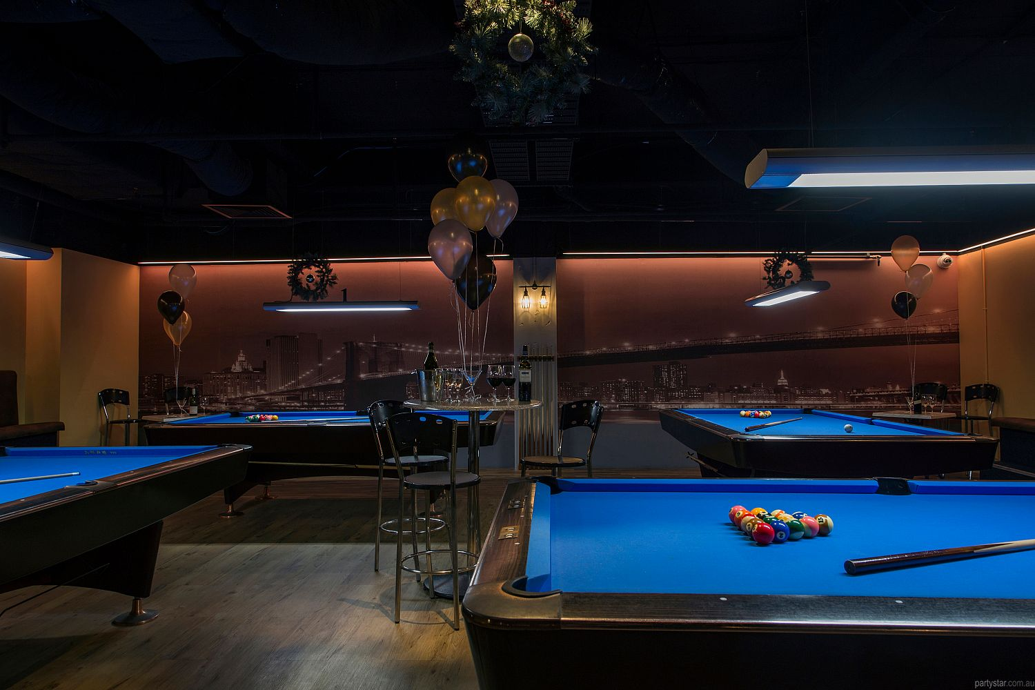 Empire Pool Lounge, Adelaide, SA. Function Room hire photo #2