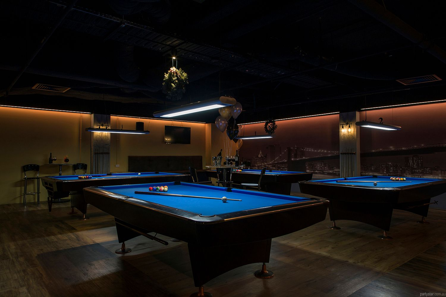 Empire Pool Lounge, Adelaide, SA. Function Room hire photo #3