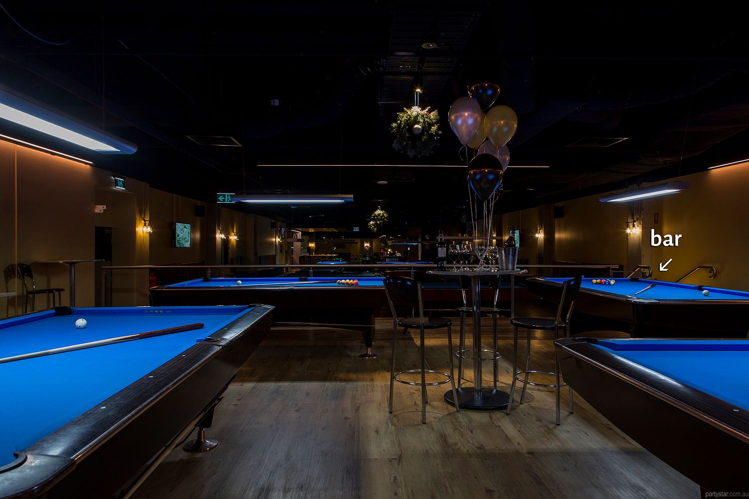 Empire Pool Lounge, Adelaide, SA. Function Room hire photo #4