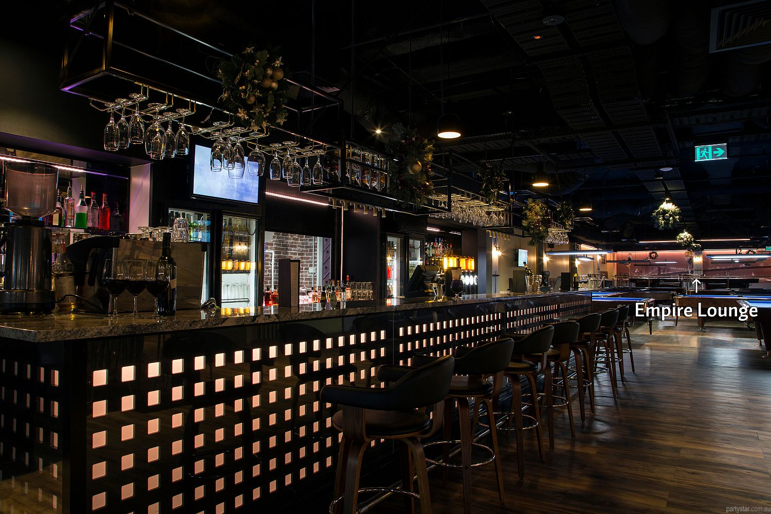 Empire Pool Lounge, Adelaide, SA. Function Room hire photo #5