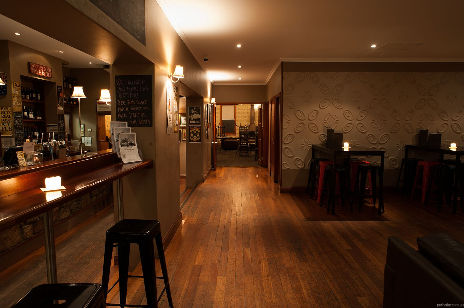 Rob Roy Hotel, Adelaide, SA. Function Room hire photo #2
