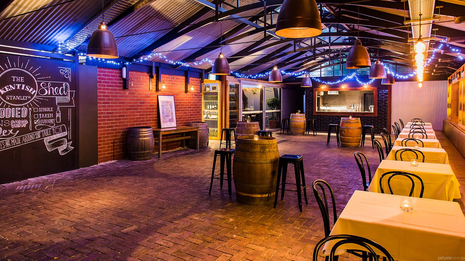 The Kentish Wine Shed In North Adelaide Adelaide Function Room Hire