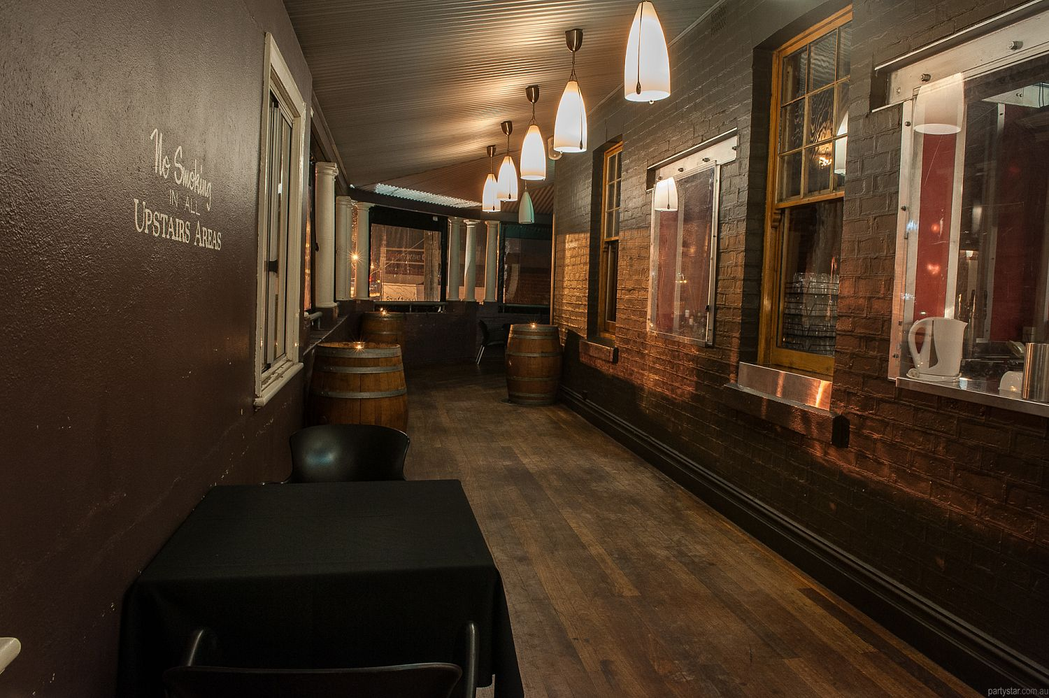 Oxford Hotel, Leederville, WA. Function Room hire photo #3