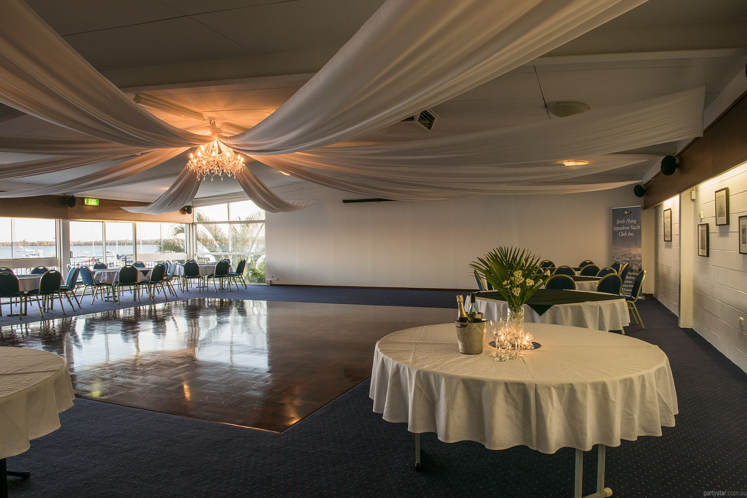 Flying Squadron Yacht Club, Dalkeith, WA. Function Room hire photo #1