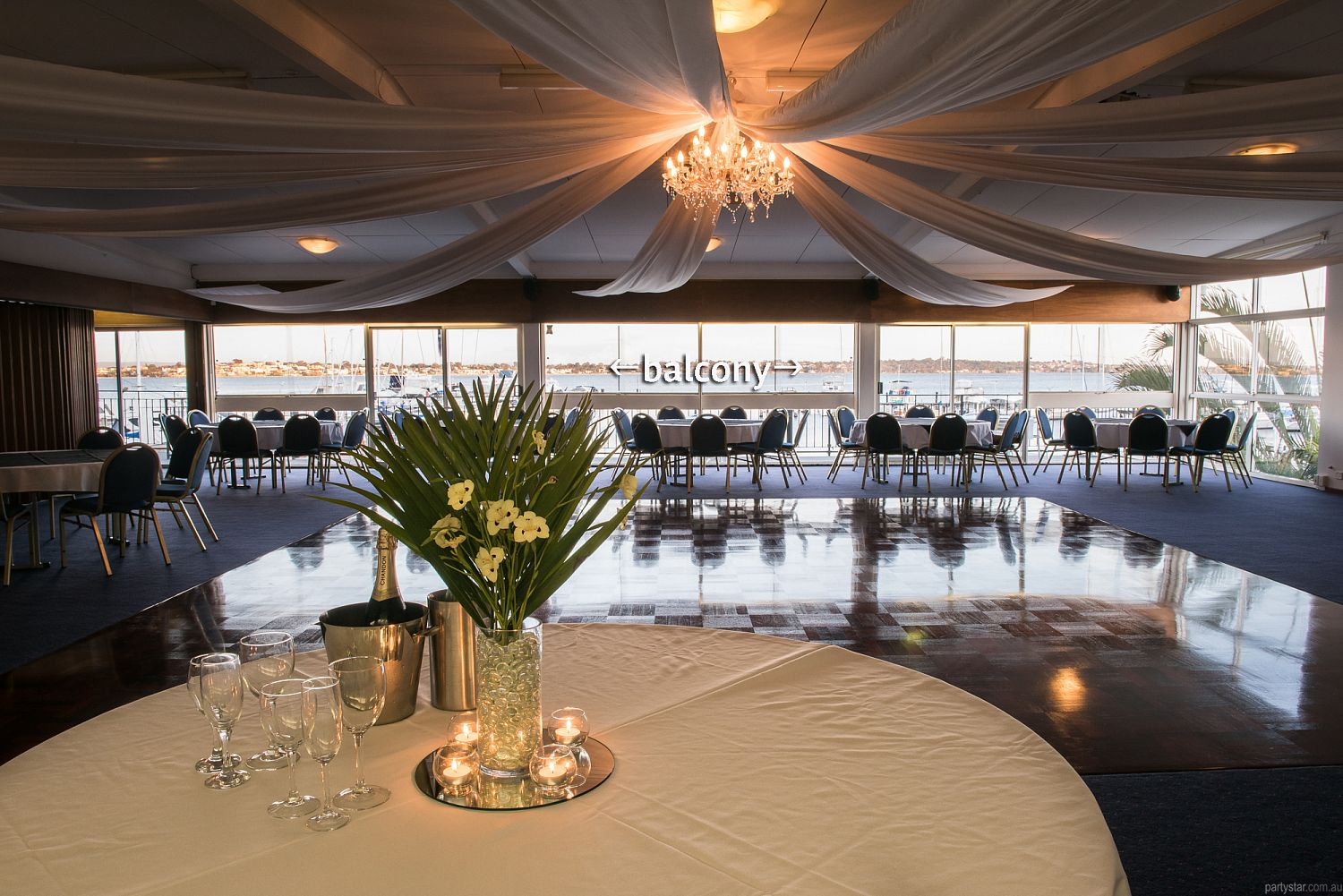 Flying Squadron Yacht Club, Dalkeith, WA. Function Room hire photo #2