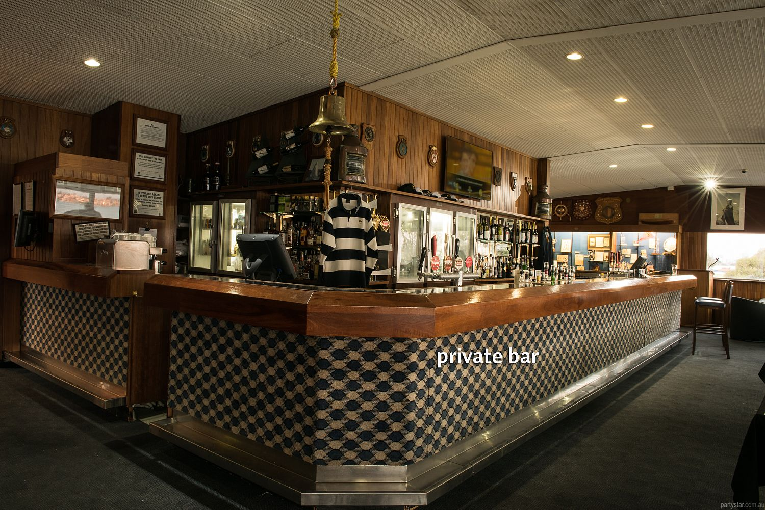 Flying Squadron Yacht Club, Dalkeith, WA. Function Room hire photo #5