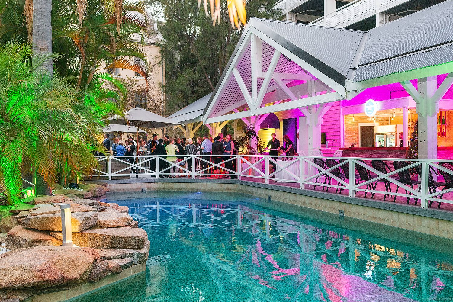 The Poolside Bar, Fremantle, WA. Function Room hire photo #1