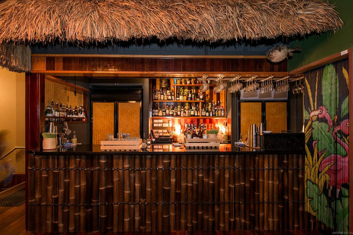 Tiki as FK, Northbridge, WA. Function Room hire photo #1