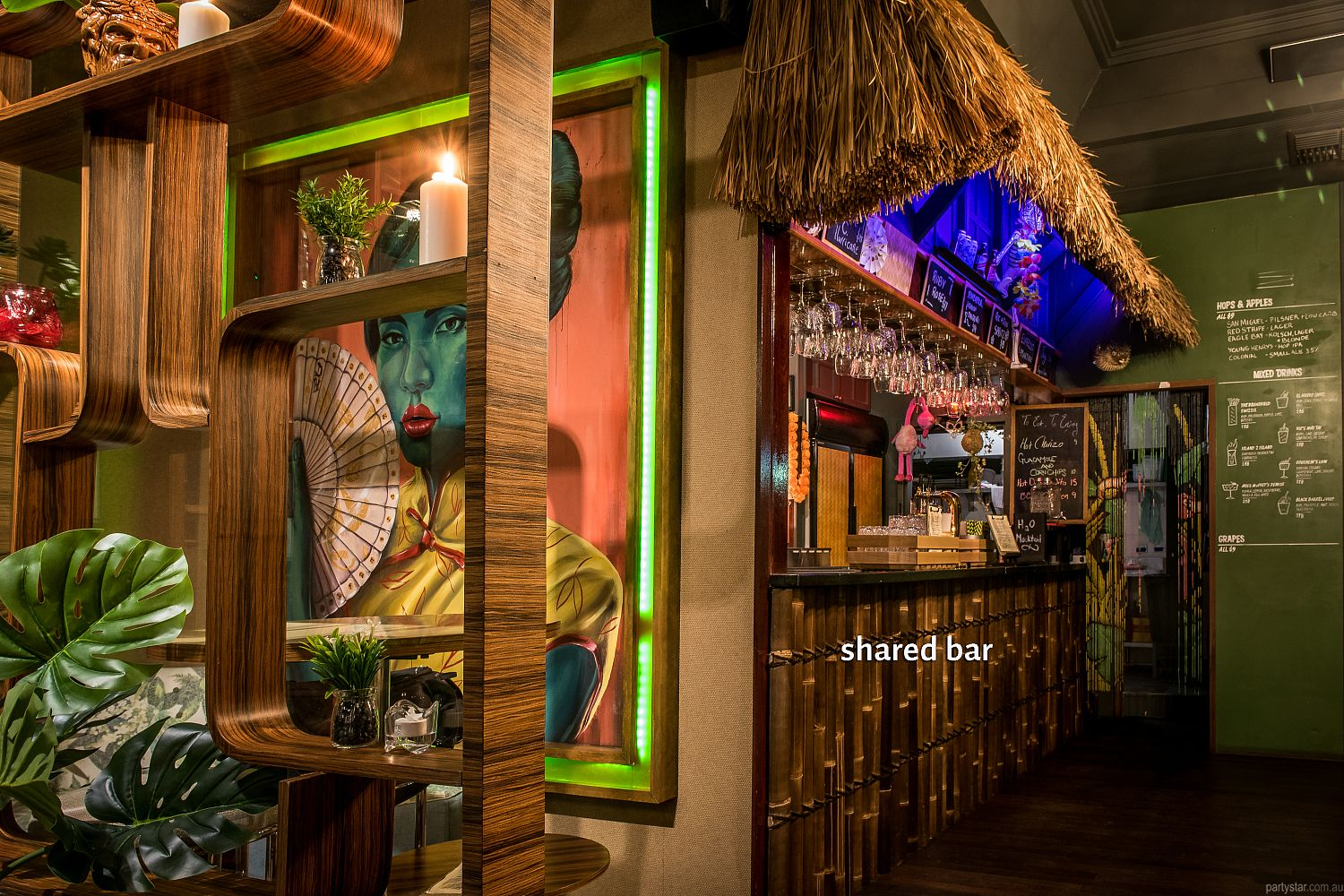 Tiki as FK, Northbridge, WA. Function Room hire photo #5