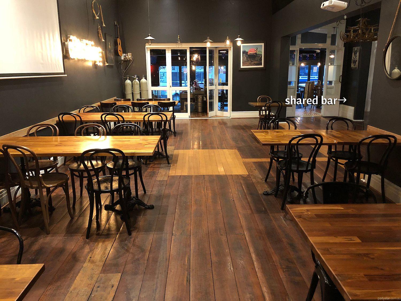 Deen Street BBQ, Northbridge, WA. Function Room hire photo #4