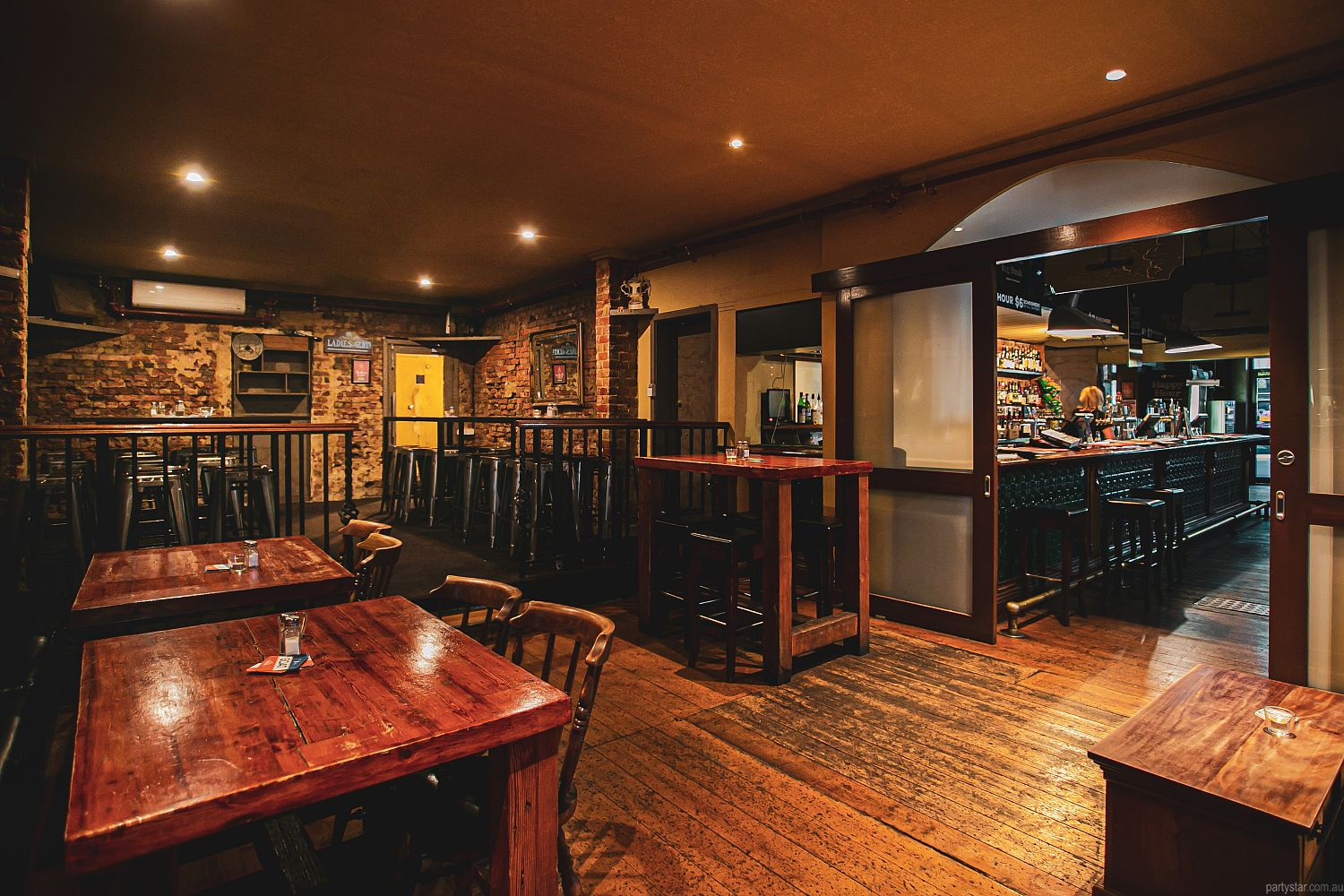 Birmingham Hotel, Fitzroy, VIC. Function Room hire photo #1