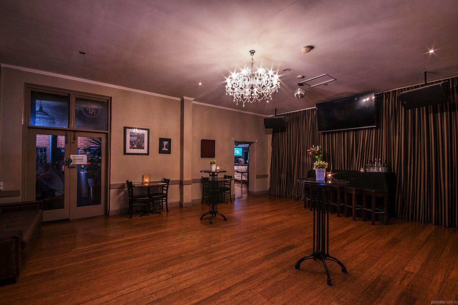 Royal Derby Hotel, Fitzroy, VIC. Function Room hire photo #1