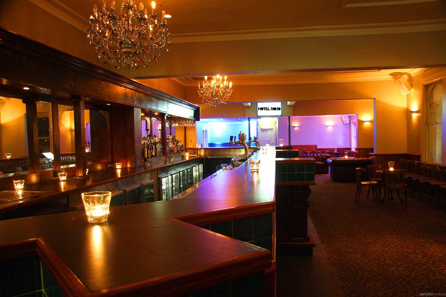 Soho, Hobart, TAS. Function Room hire photo #2