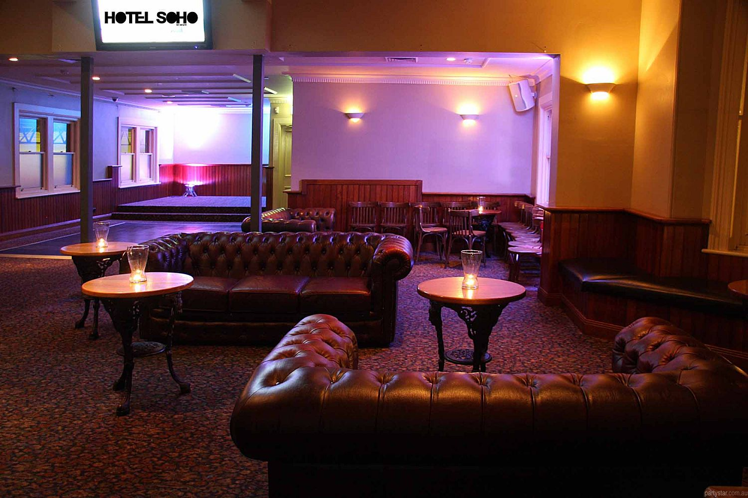 Soho, Hobart, TAS. Function Room hire photo #3