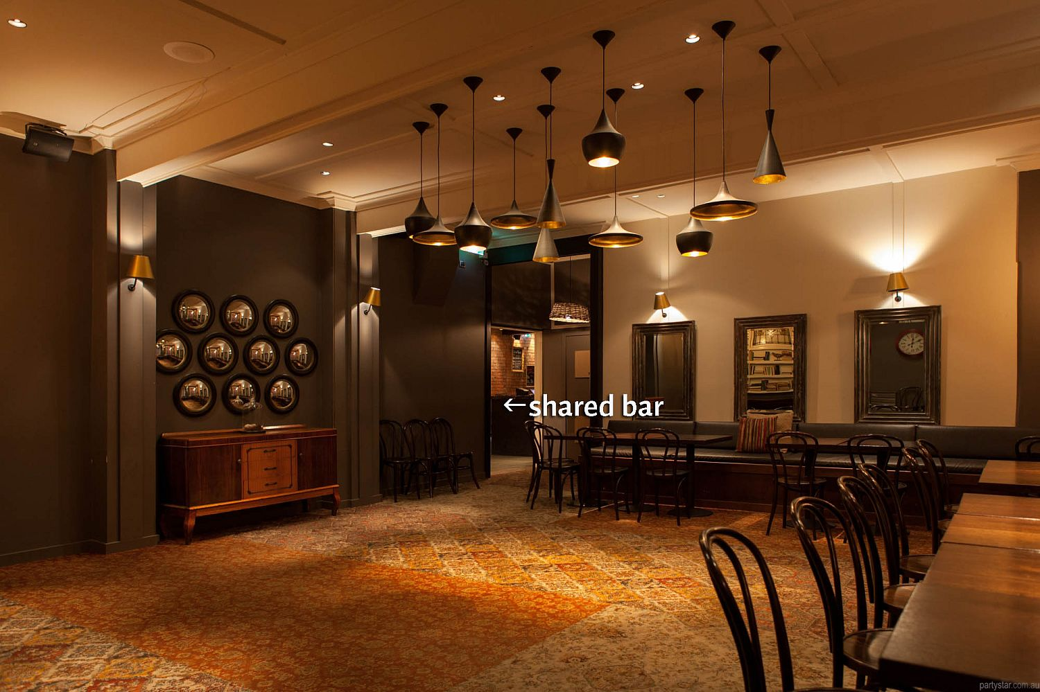 Brunswick Hotel, Hobart, TAS. Function Room hire photo #4