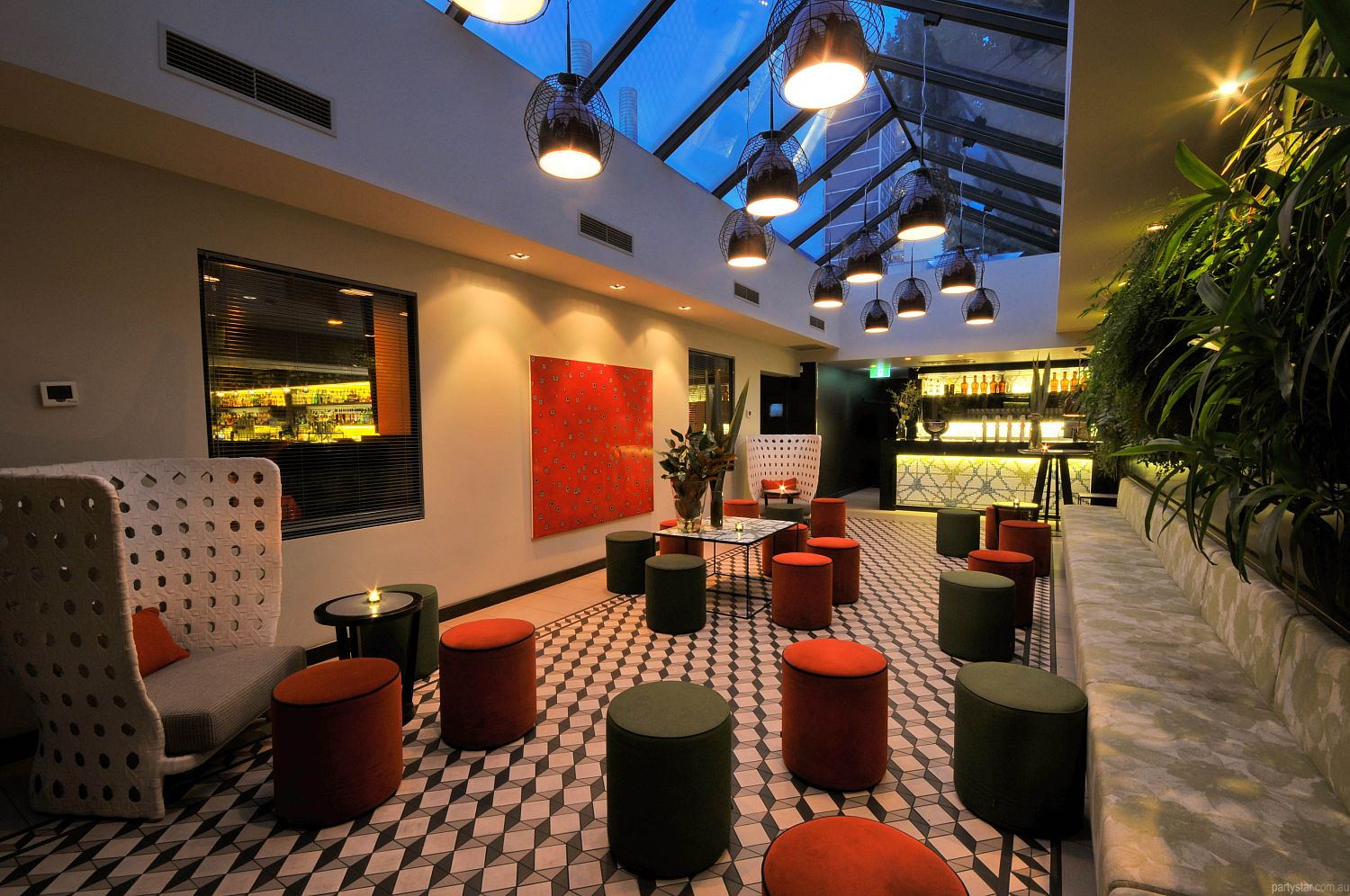 The Botanical, South Yarra, VIC. Function Room hire photo #1